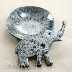 ceramika zestaw ze słonikiem
