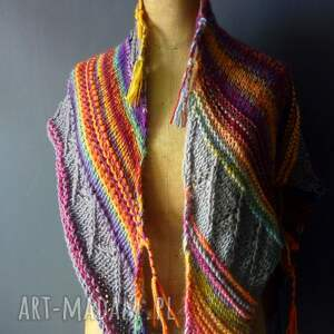 chustki i apaszki szal asymetryczna chusta bohostyle
