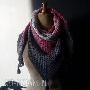 chustki i apaszki bawełniana chusta ombre
