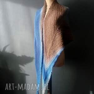 atrakcyjne chustki i apaszki alpaca chusta strzałka merino