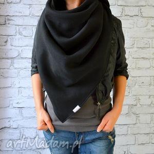 urokliwe chustki i apaszki bawełniany szal chusta xxl czarna