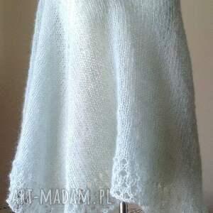 oryginalne chustki i apaszki chusta rozbielona mięta olbrzymia
