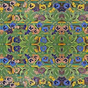 sztuka chustki i apaszki szal - bratki wyspiańskiego