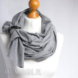 chustki i apaszki szal chusta bawełniana z zapinką