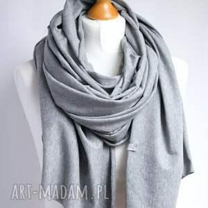 ręcznie robione chustki i apaszki chusta szal bawełniana z zapinką