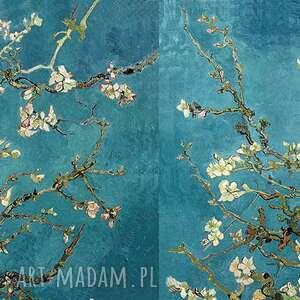 chustki i apaszki kwiaty szal vincent van gogh, kwitnący