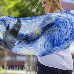sztuka chustki i apaszki szal vincent van gogh gwiaździsta