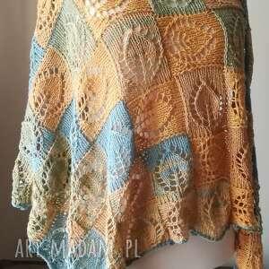 chustki i apaszki chusta w słońcu bawełniana