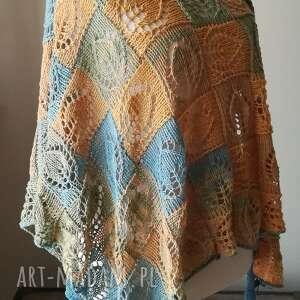chustki i apaszki rękodzieło w słońcu bawełniana chusta