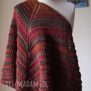 chustki i apaszki rękodzieło w stylu navaho duża chusta