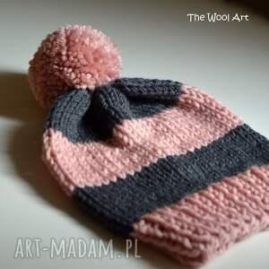 na-głowę czapka pink-gray