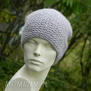 oryginalne czapki dziergana alpaca * szlachetna czapka piękny