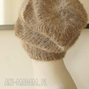 dziergana czapki alpakowa czapka