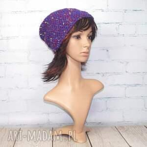 atrakcyjne czapki beanie - melanżowa czapka