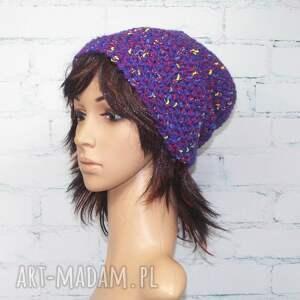 czapki zima beanie - melanżowa czapka