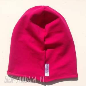handmade czapki czapka benie dresowa smerfetka