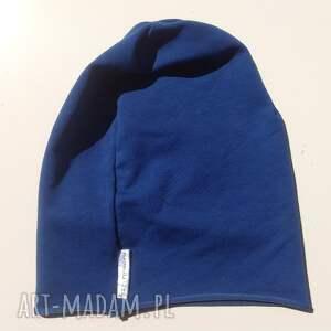 różowe czapki czapka benie dresowa smerfetka
