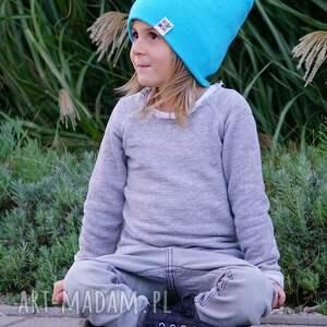 czapka na jesień czapki błękit do wynajęcia