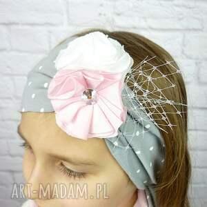 czapki prezent cienki komplet dla dziewczynki