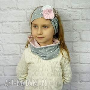 nietypowe czapki prezent cienki komplet dla dziewczynki