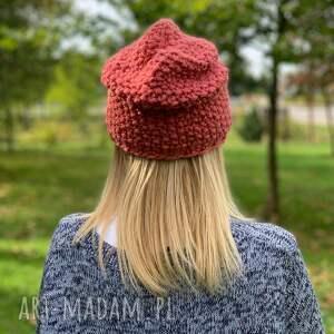 wełniana czapki ciepła czapka z merino