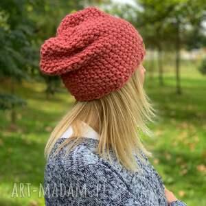 The Wool Art czapki wełniana ciepła czapka z merino