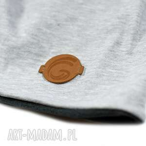 hand-made czapki ciepła czapka szara