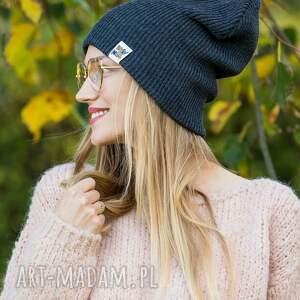 handmade czapki czapka jesienna czapa dwustronna logo kolorowe cool