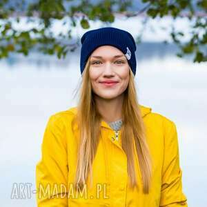 czapka damska czapki czapa dwustronna logo kolorowe