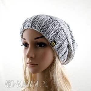 czapki czapa jasnoszara:)