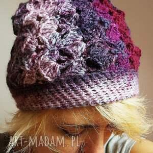 czapki czapa jesienna śliweczka