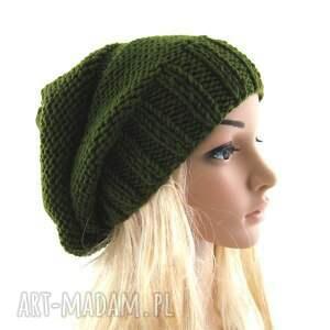 hand-made czapki czapka czapa khaki