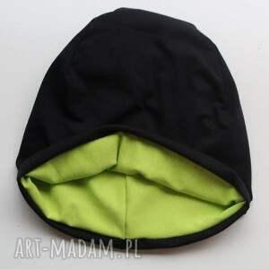 beanie czapki czapka 2 w 1 dresowa dwustronna