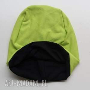 zielone czapki dresowa czapka 2 w 1 dwustronna
