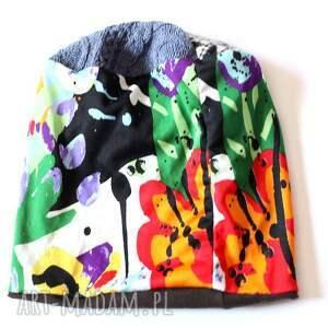 Ruda Klara czapki kolorowa czapka a homoseksulane pingwiny