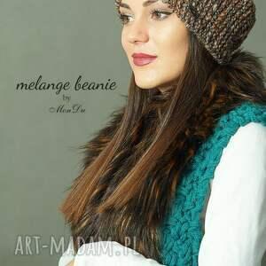 na drutach czapki czapka #32