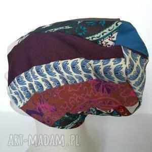 etno czapki czapka boho kolorowa damska