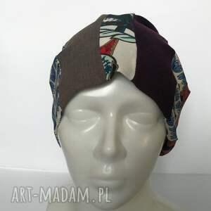 frapujące czapki czapka boho kolorowa damska