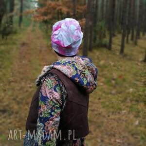 czapki czapka damska dzianinowa farbowana