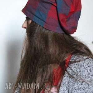 hand made czapki czapka damska materiałowa