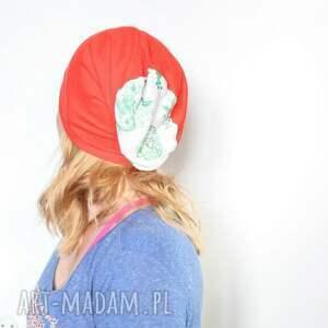 niesztampowe czapki czapka damska dzianinowa