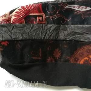 atrakcyjne czapki czapka damska patchworkowa styl