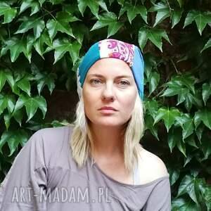 ręcznie zrobione czapki czapka damska szyta patchworkowo