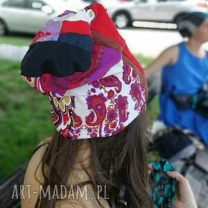 ciekawe czapki czapka damska na podszewce szyta