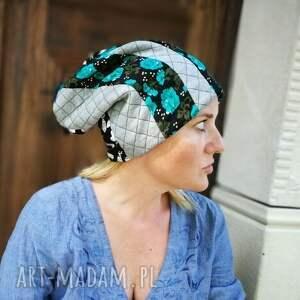 czapki czapka damska etno boho patchwork