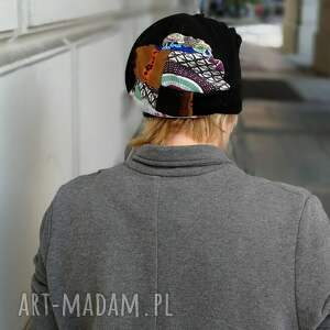 unikalne czapki czapka damska orientalna długa etno