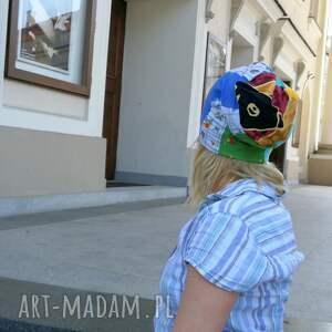 czapki: czapka damska etno boho wiosenna codzienna