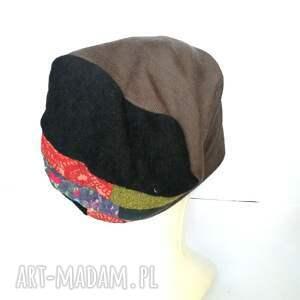 etno czapka damska wiosenna uniwersalna