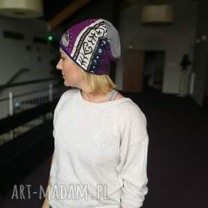 czapki etno czapka damska zimowa w stylu boho