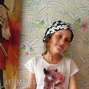 czapki etno czapka damska wiosenna sportowa w kwiaty box